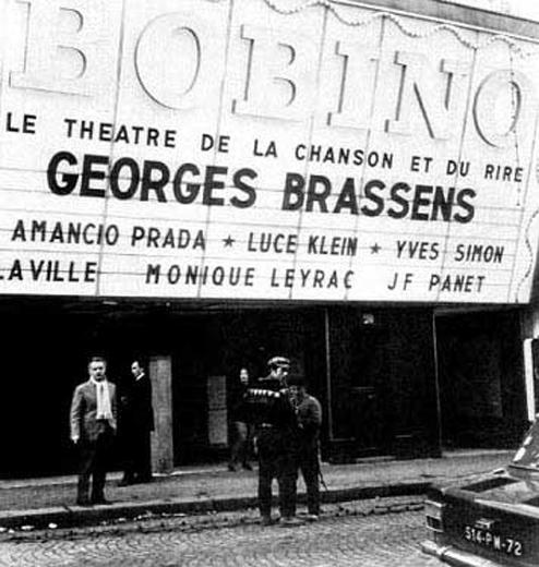 Theatre de la Chanson.