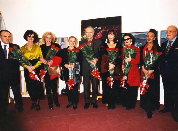 "Presentación de ""Rosas a Rosalía"" (1997)"